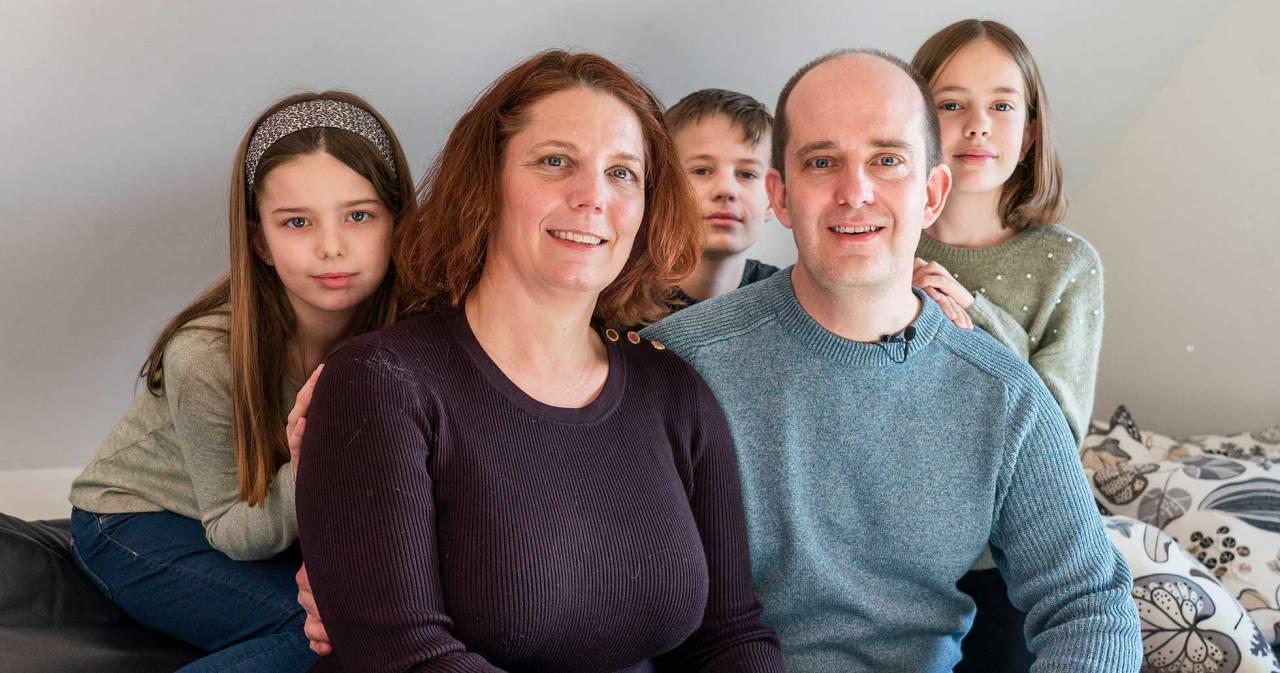 Det var flera lyckliga omständigheter som gjorde att Jenny överlevde sitt hjärtstopp och fick mer tid med sin familj.