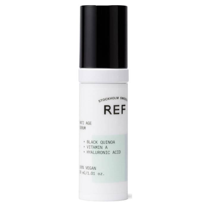 Anti age serum från REF med ingredienser som verkar mjukgörande