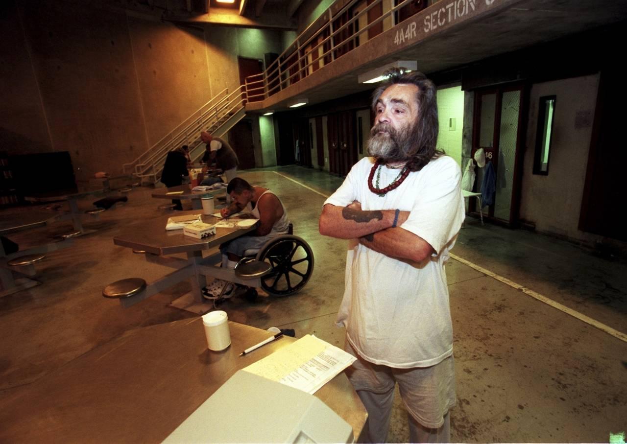 Charles Manson I fängelset