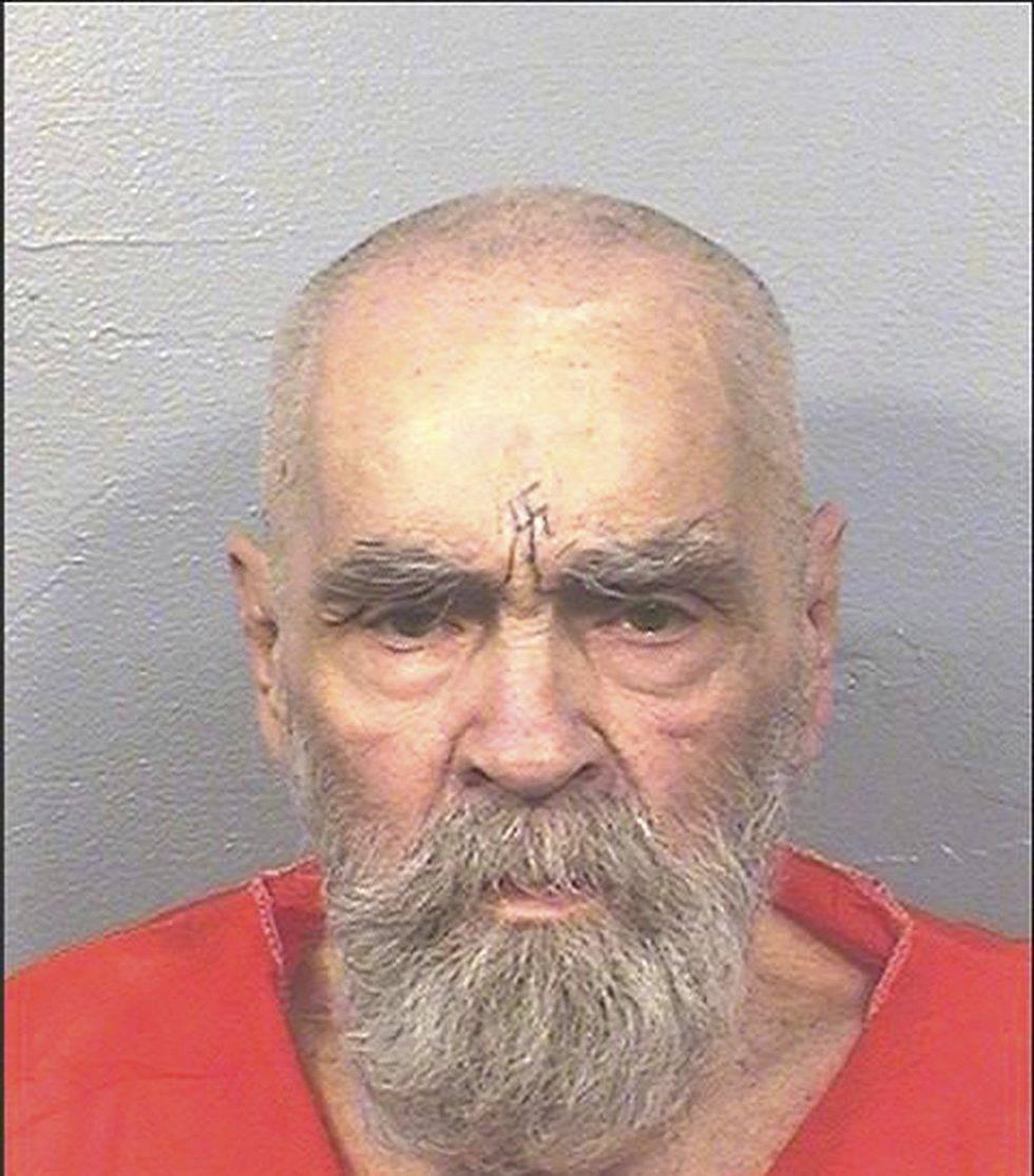 Charles Manson mug shot