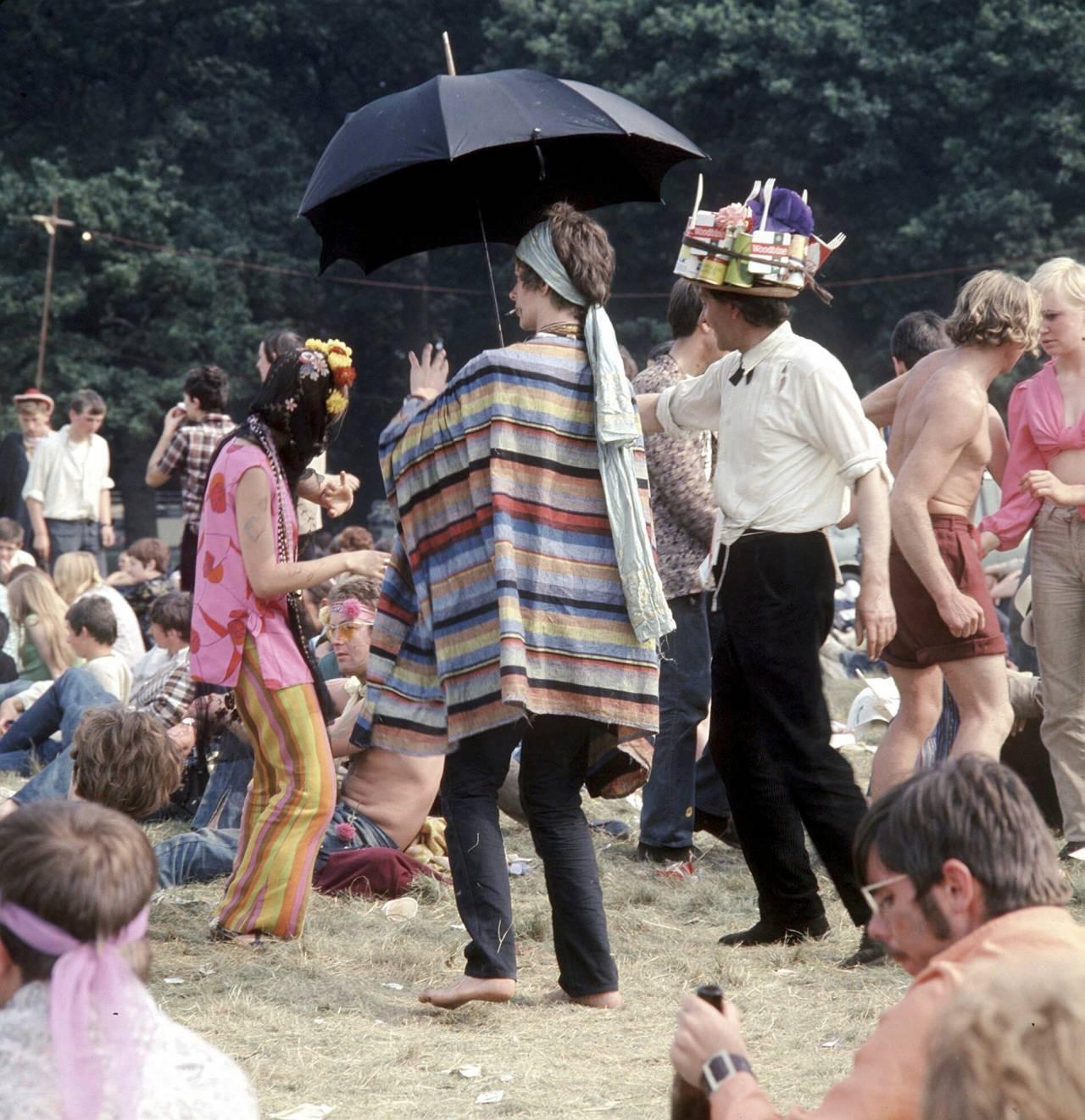 Hippies dansar 1967