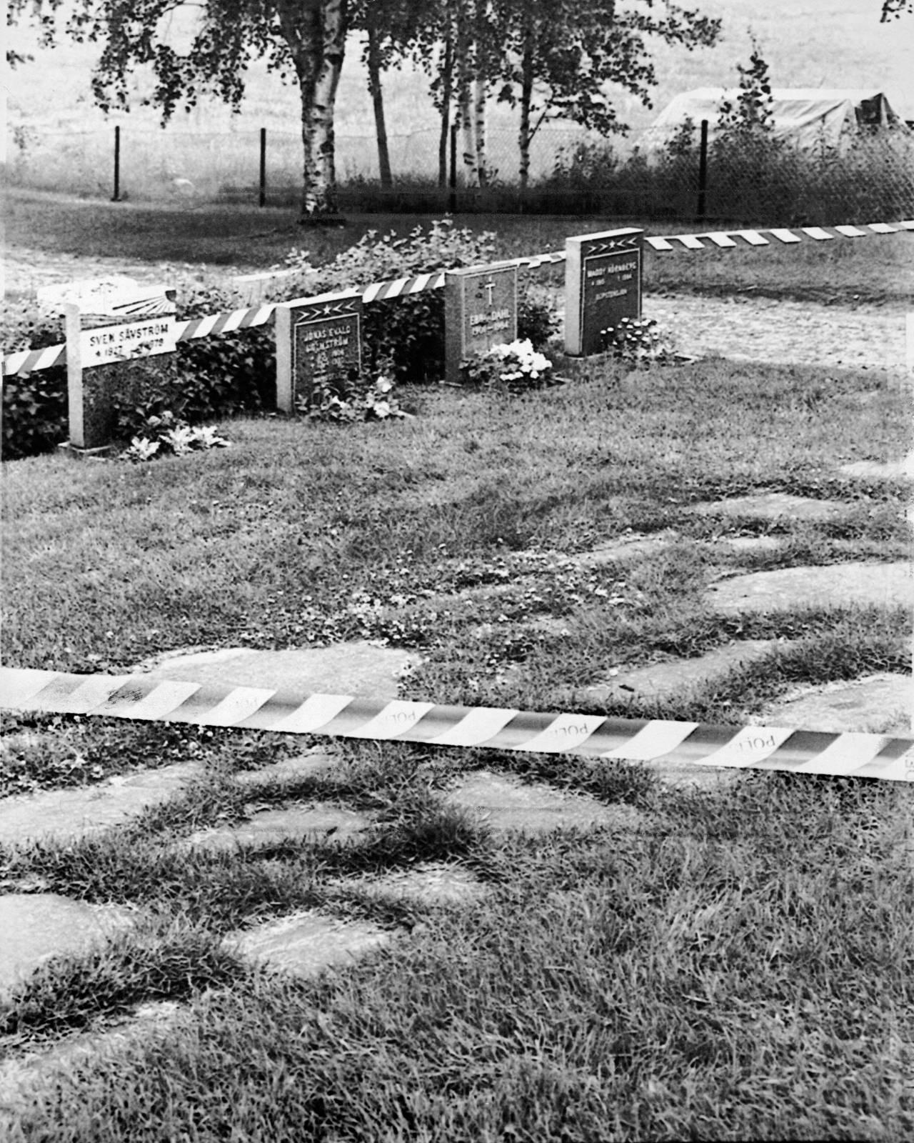 Kyrkogården i Åmsele