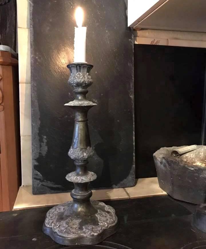 Antik ljusstake