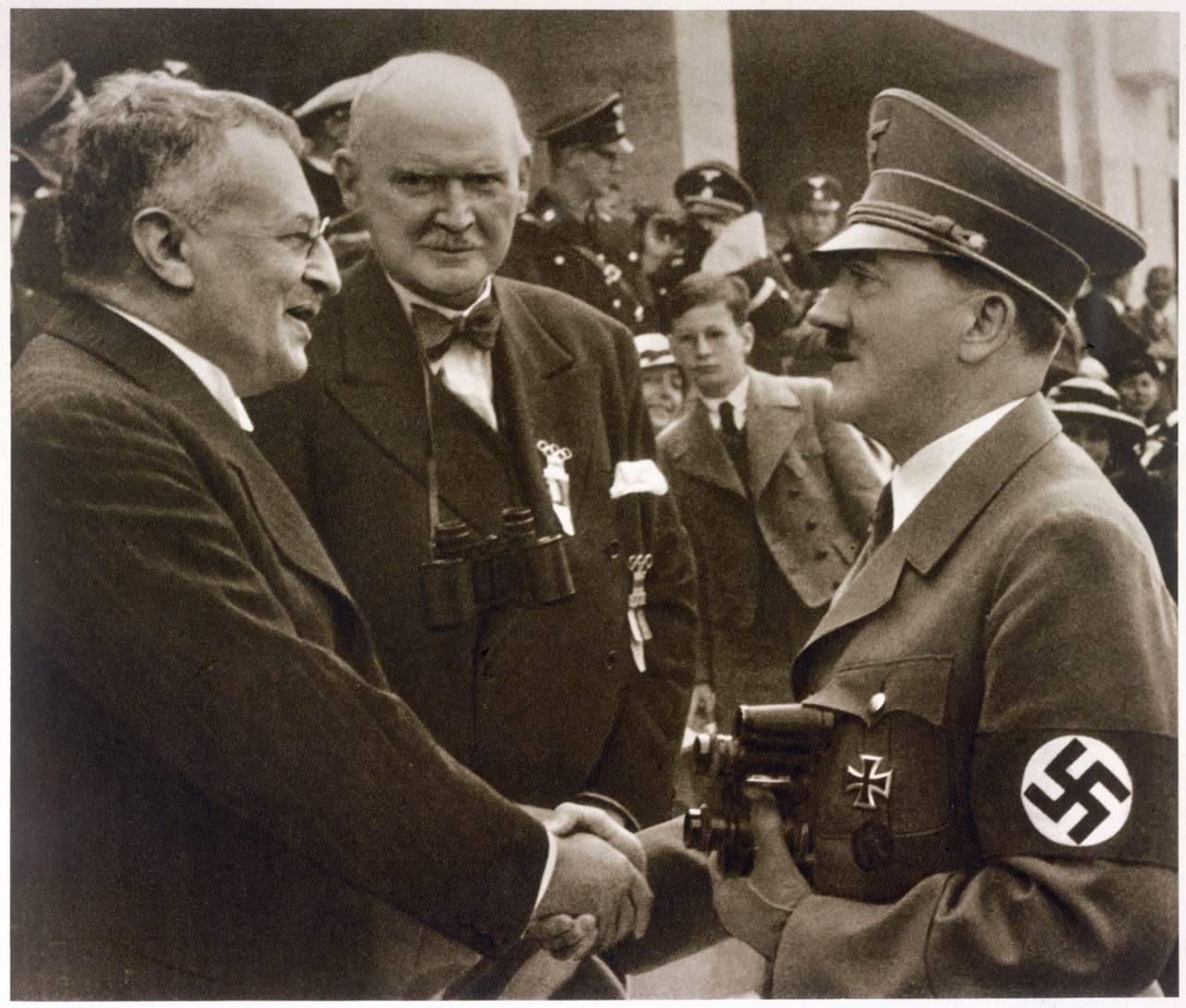 Sven Hedin och Adolf Hitler