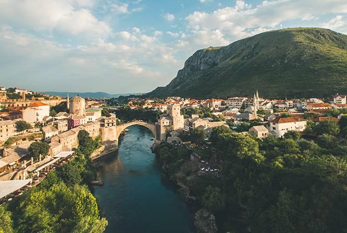 Mostar i Bosnien