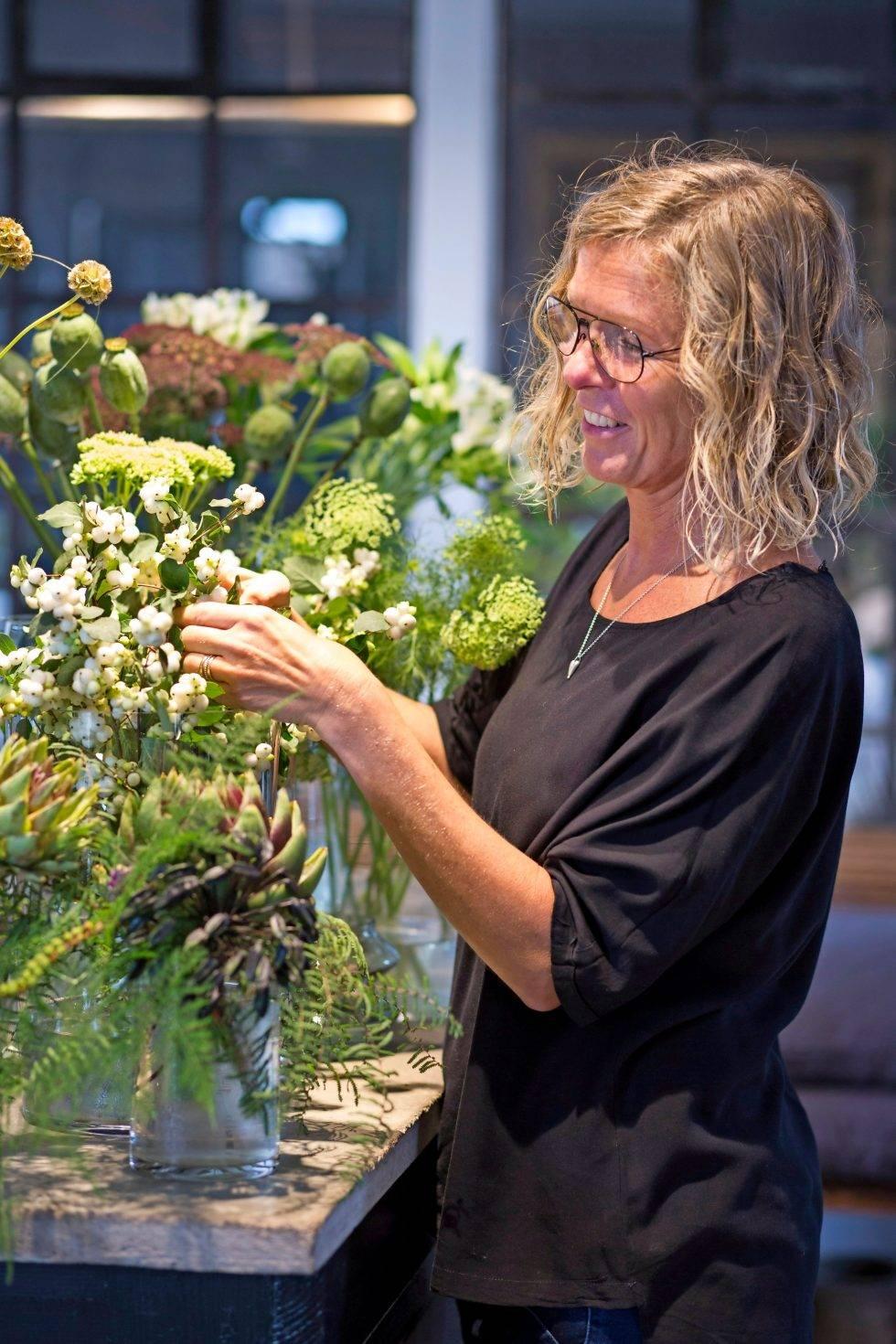Floristen Liselotte Waldemarsson ger sina bästa tips.