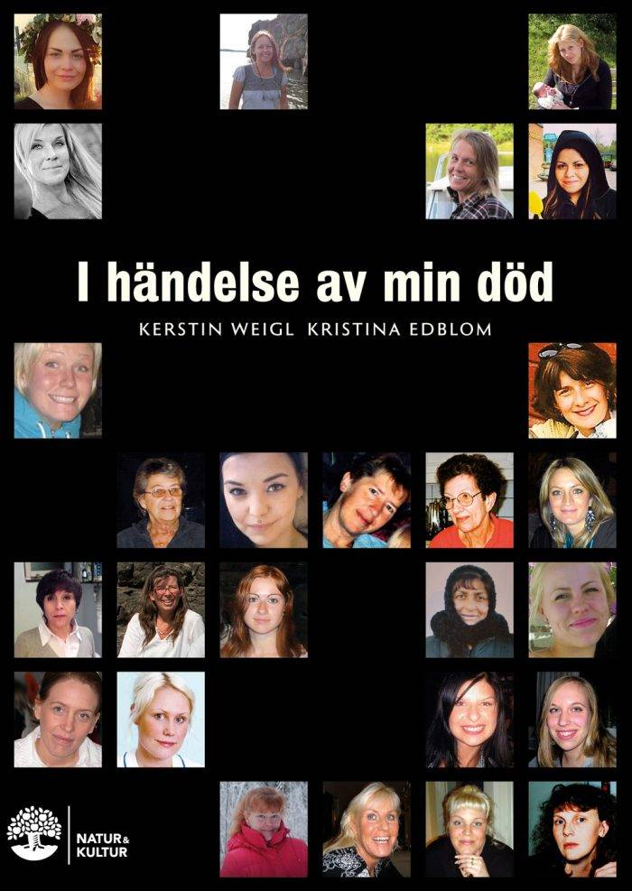 Boken I händelse av min död av Kristina Edblom och Kerstin Weigl