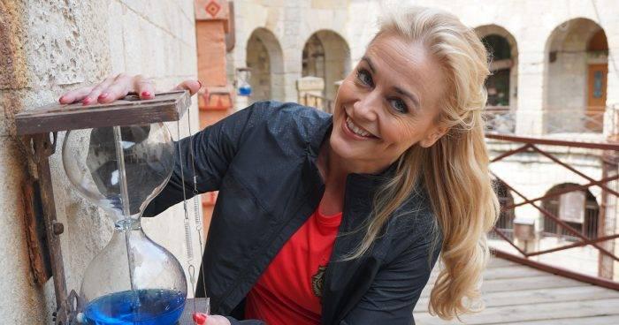 Johanna Lind Bagge medverkar i Fångarna på fortet den 30 augusti 2019
