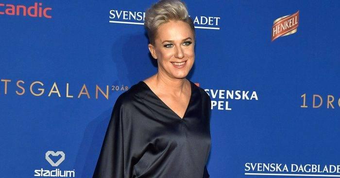 Kajsa Bergqvist medverkar i Fångarna på fortet den 23 augusti 2019