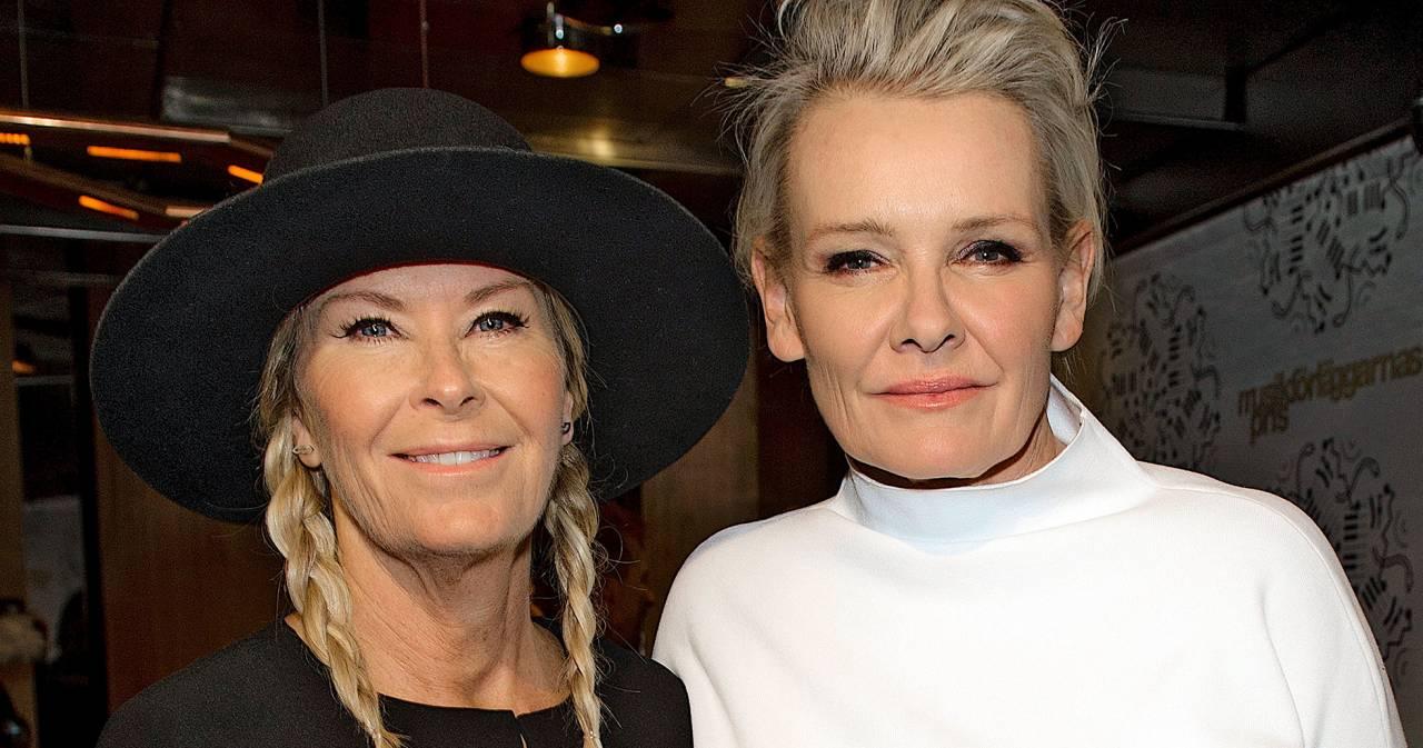 Efva Attling och Eva Dahlgren