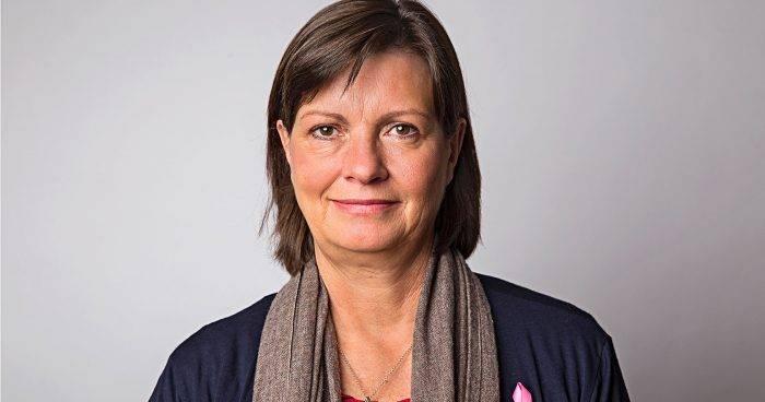 Susanne Dieroff Hay Bröstcancerförbundets ordförande