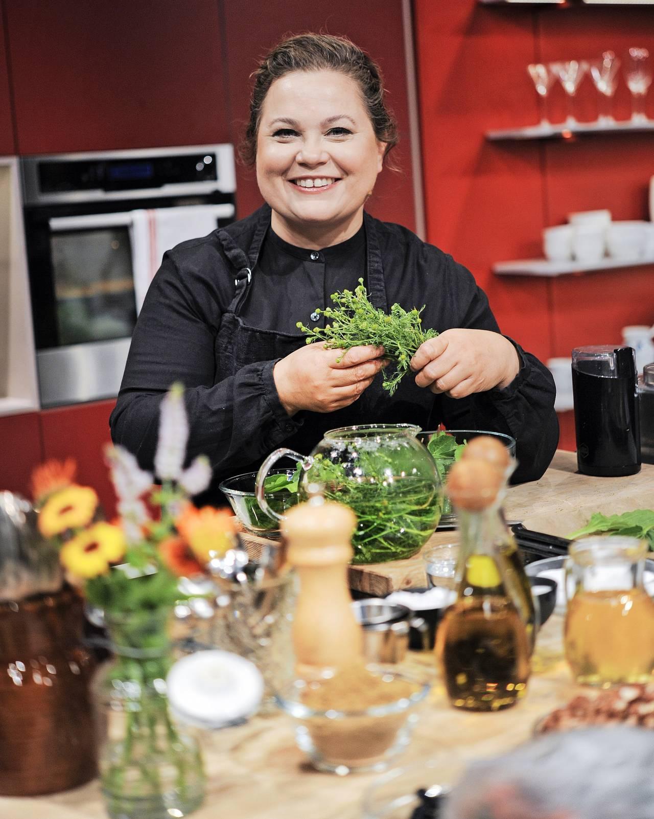 Susanne Jonsson, tv-kock i Go