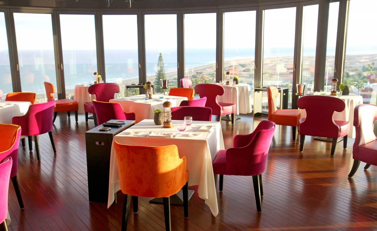 Restaurang med utsikt på Gran Canaria