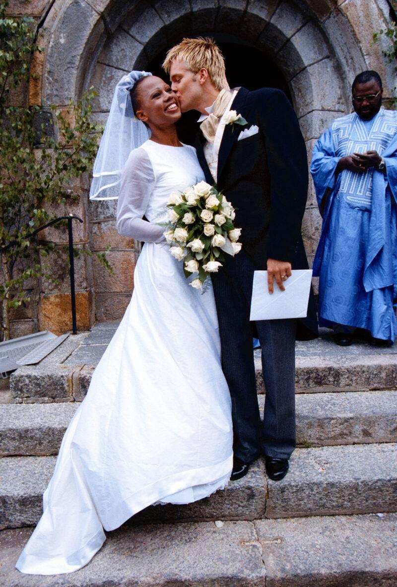 Alice Bah Kuhnke och Henrik Johansson gifte sig 1998