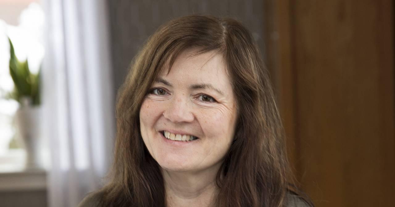 Ann-Mari Schwartz, 54, Agnethas bästa väninna.