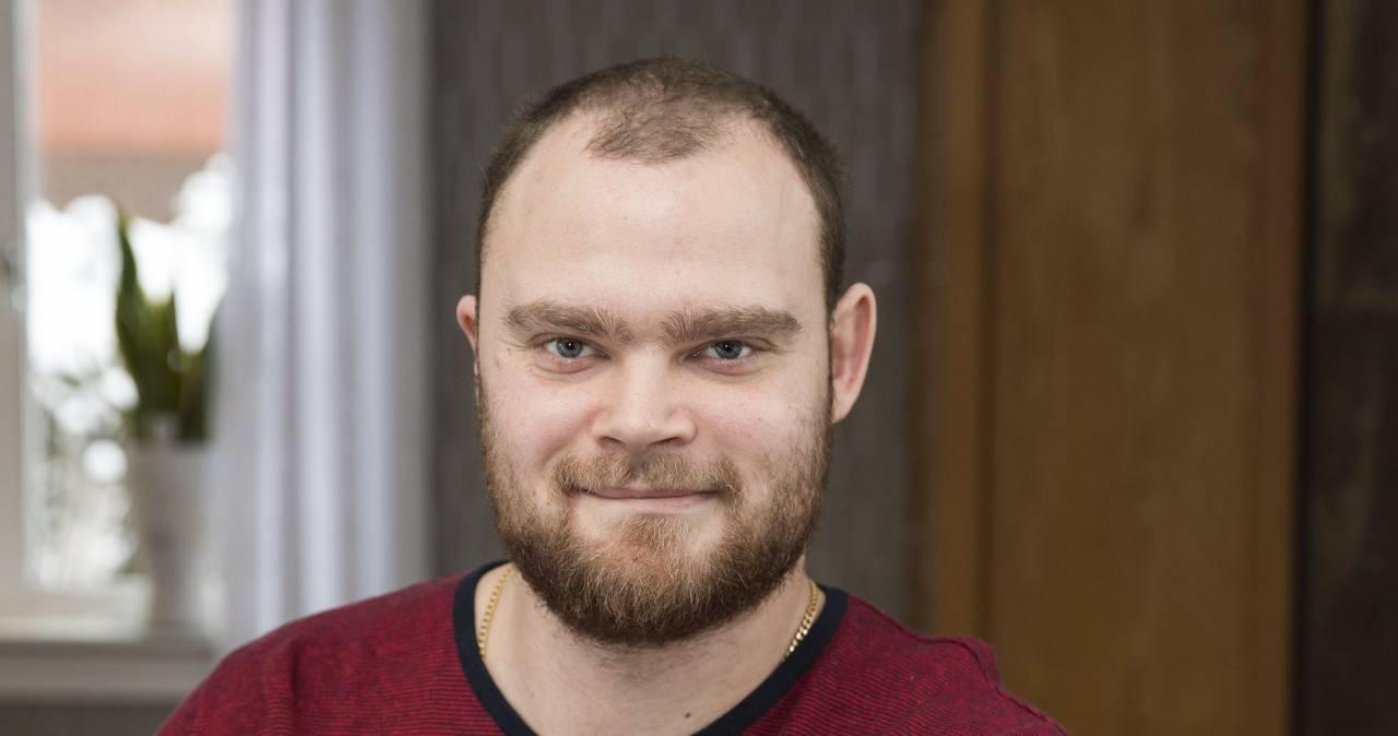 Christian Lantz, 29, Agnethas son.