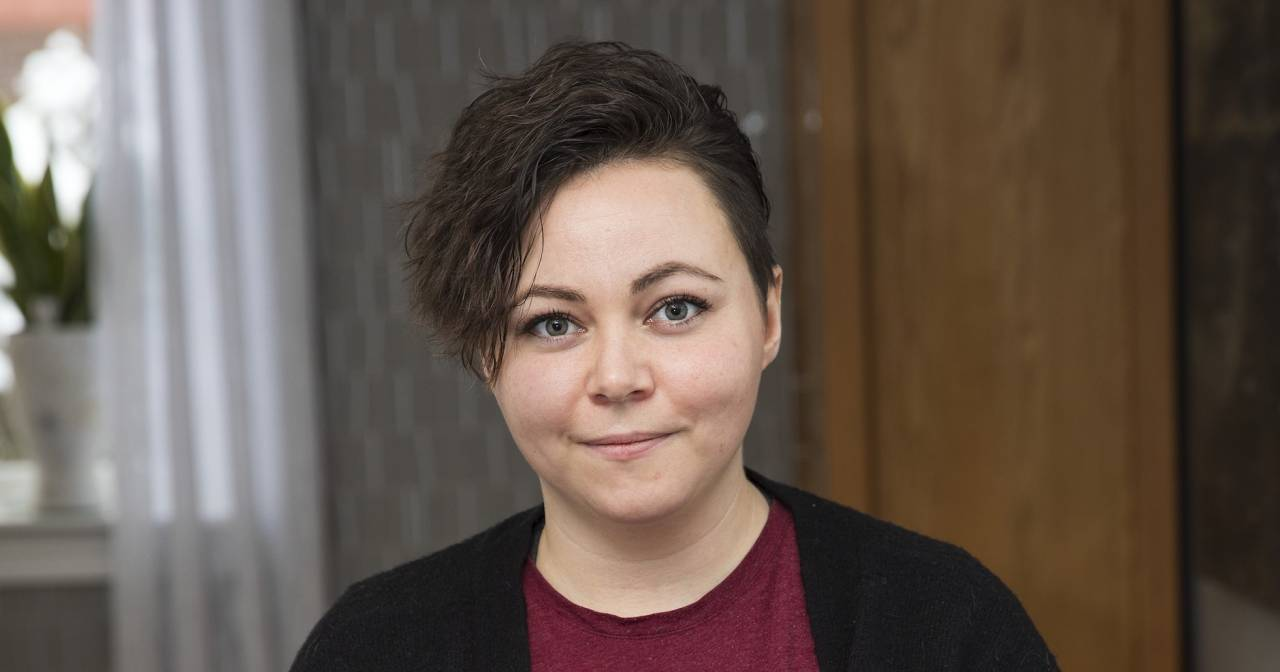 Ellinor Lantz, 28, Agnethas yngsta dotter.