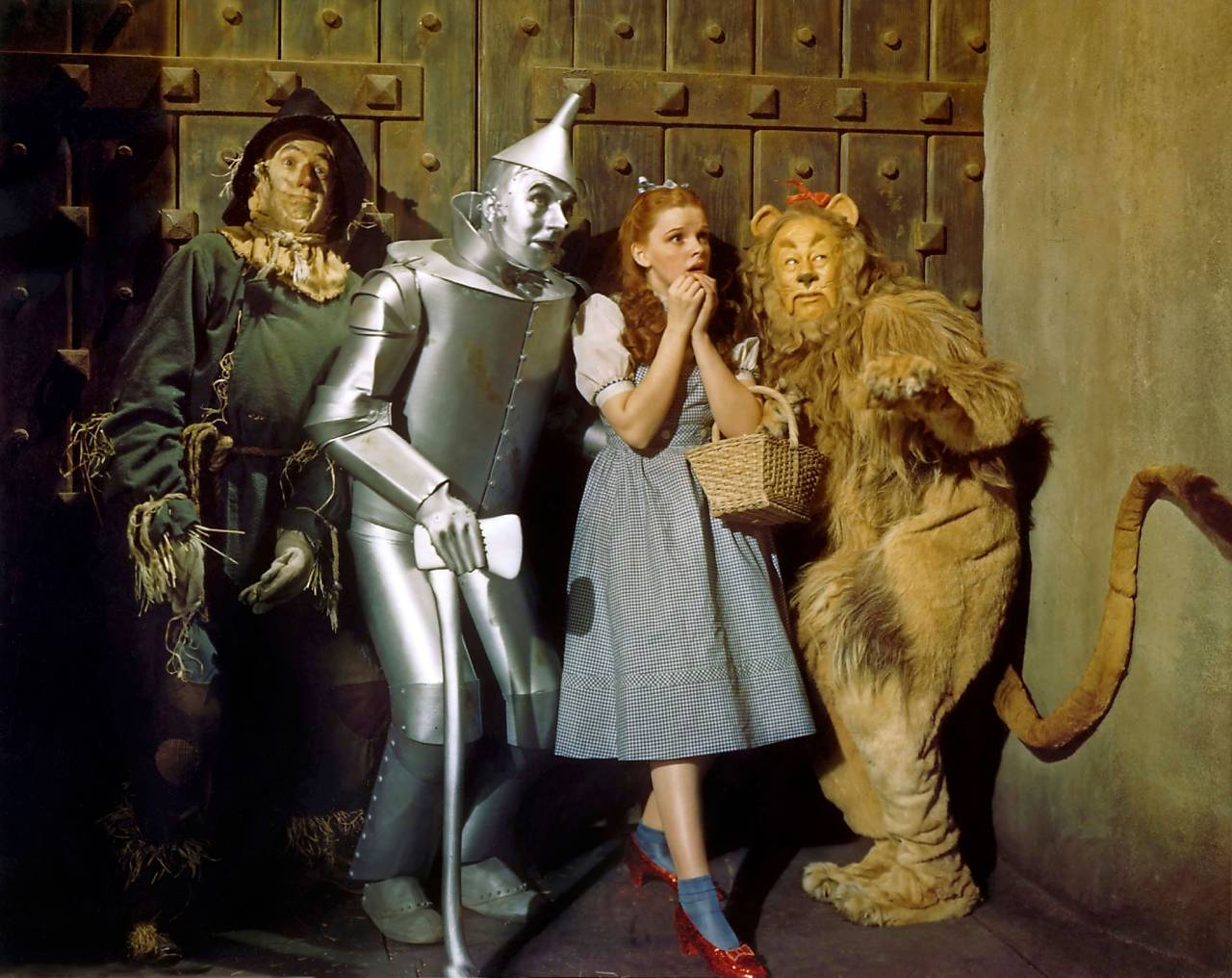 Judy Garland I legendariska filmen Trollkarlen från Oz