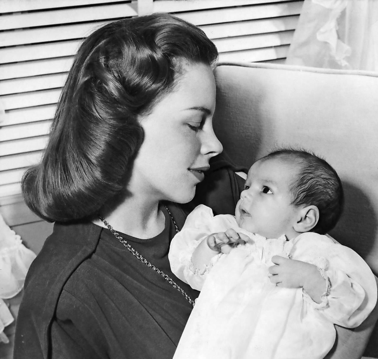 Judy med dottern Liza Minelli