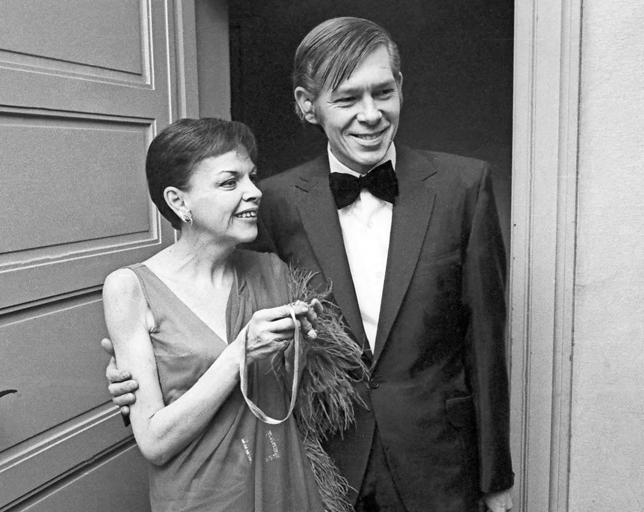 Judy Garland med femte maken Mickey Deans