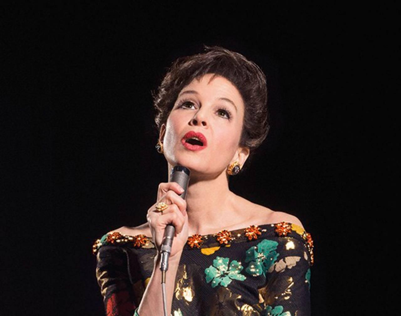 Renée Zellweger gör huvudrollen i filmen om Judy Garland.