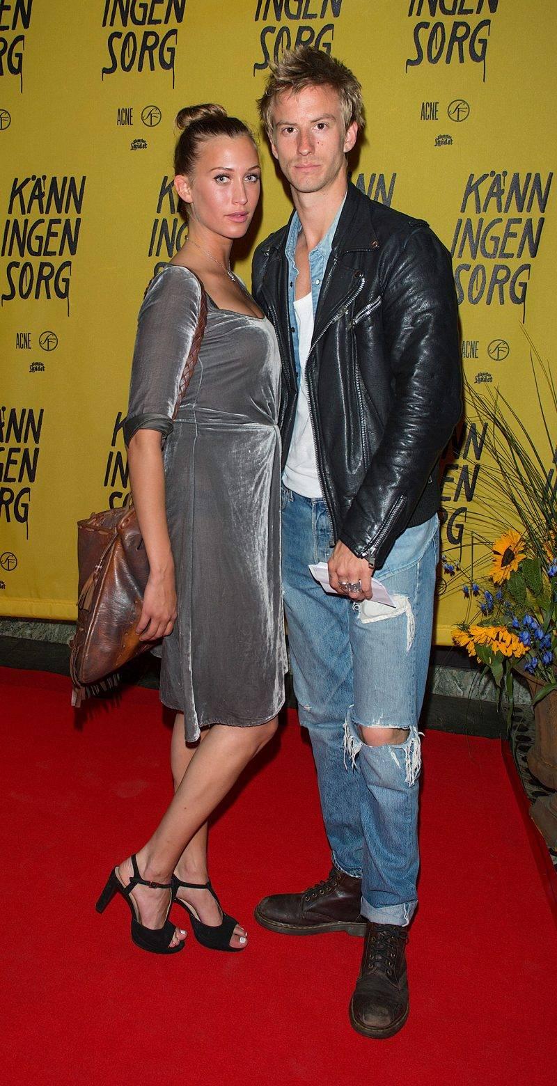 Julia Ragnarsson och Filip Berg var ett par 2013