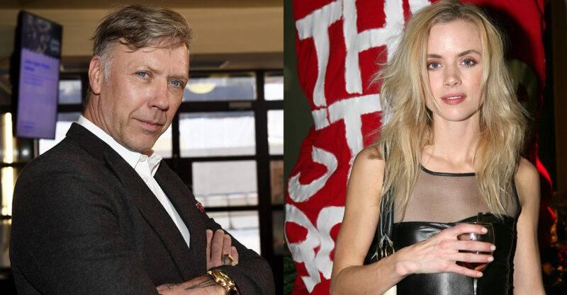 Mikael Persbrandt och Amanda Renberg var ett par under tidigt 2000-tal