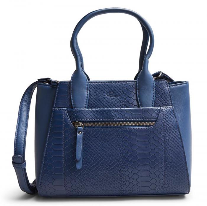 Blå skinnväska från Rizzo