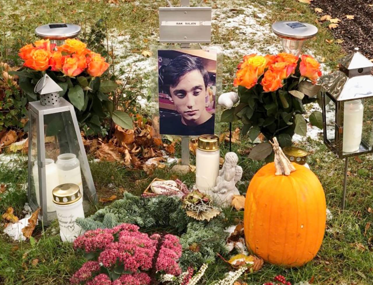 Christinas son Isak dog av en överdos
