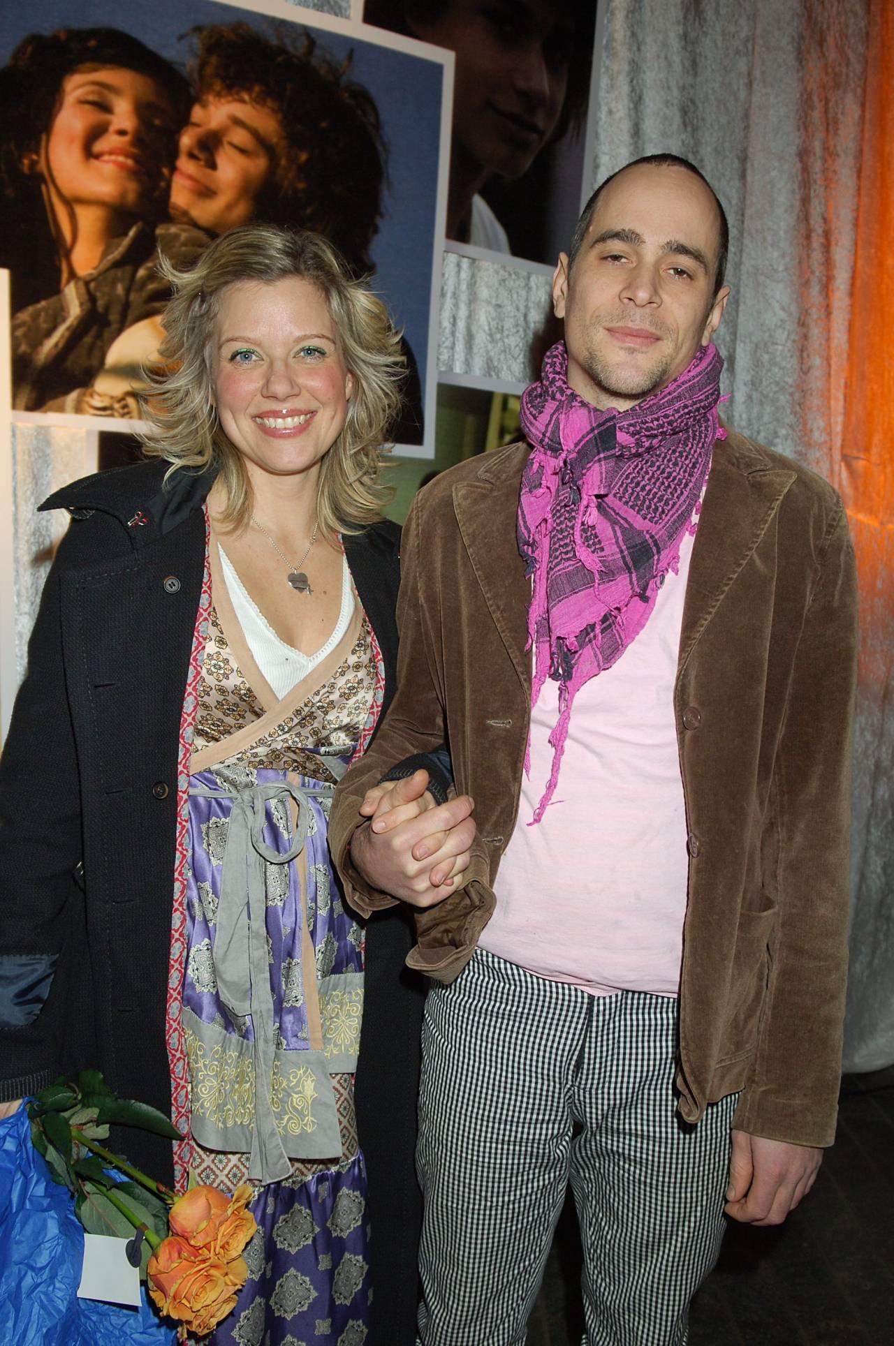 Emma Hamberg med ex-maken Agi Lindroth