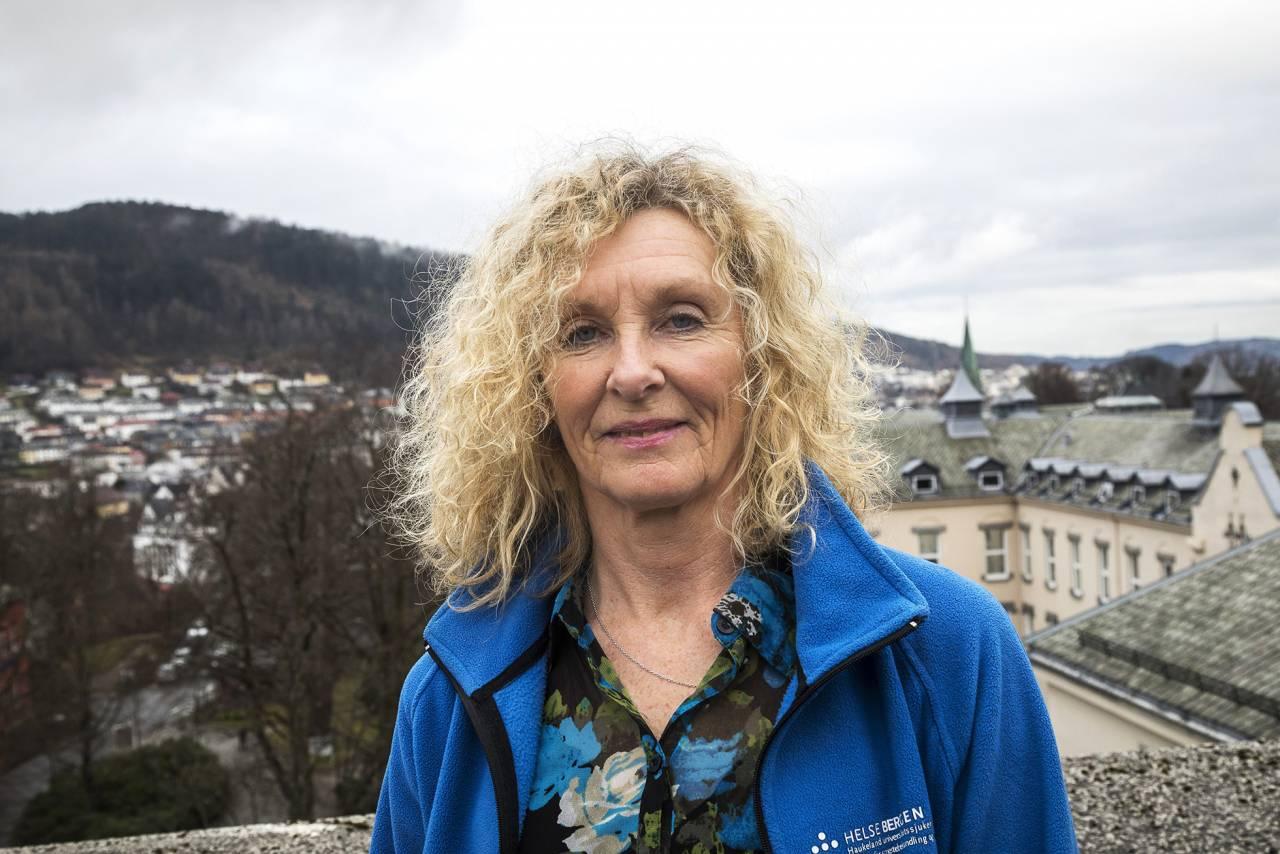 Porträtt av Lise som nu är friskförklarad från sin livmoderhalscancer