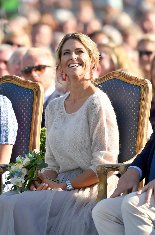 Prinsessan Madeleine ler under Victoriadagen i somras.