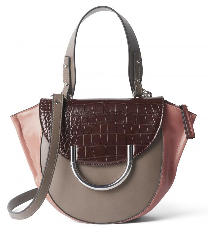 Handväska med metallring, från Carin Wester/Åhléns