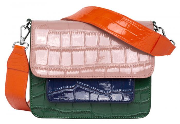 Flerfärgad väska från Hvisk