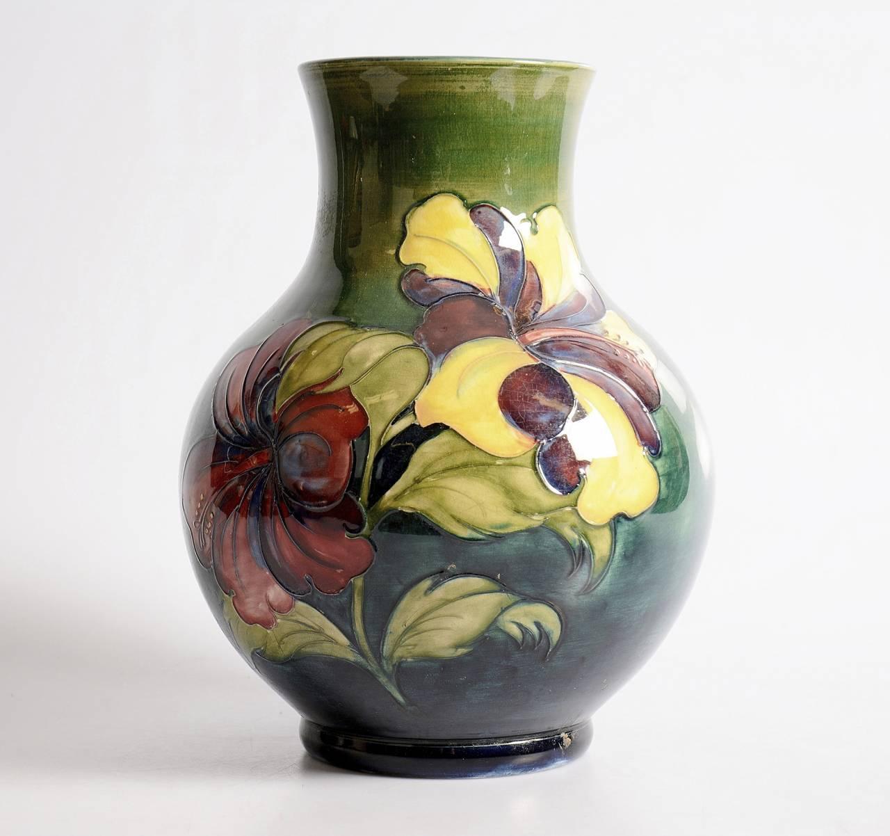 Moocroft-vase från 1900-talets första hälft
