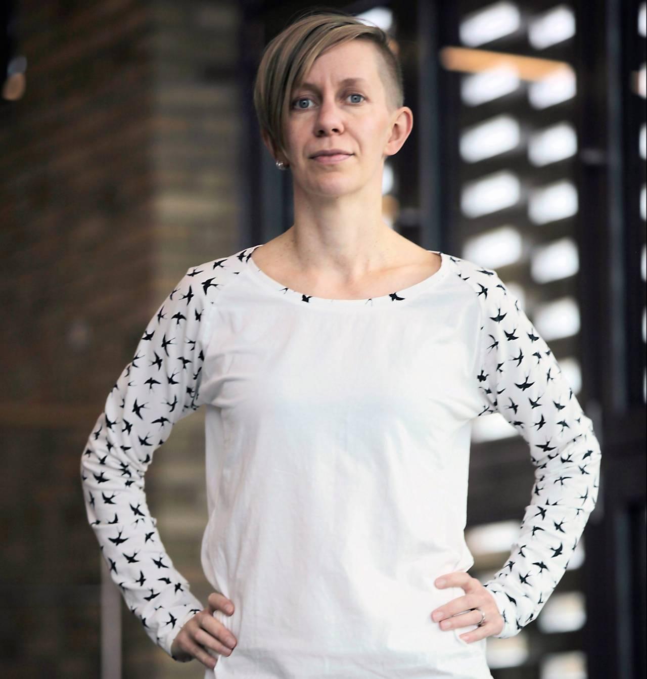 Hanna Söderlund,humorforskare vid Umeå Universitet.