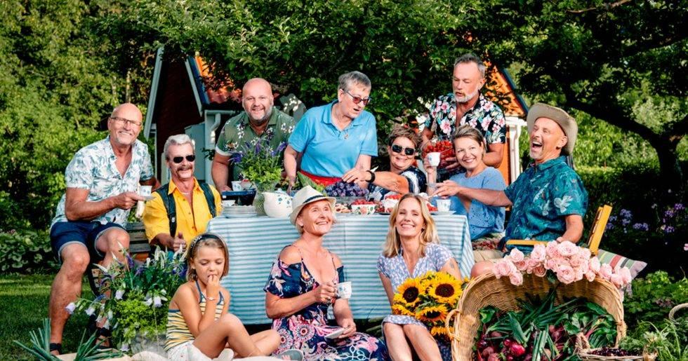 Alla deltagare i Paradiset Iris på Kanal 5 hösten 2019.