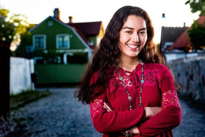 Christina Sittser är en av deltagarna i Allt för Sverige 2019 i SVT.