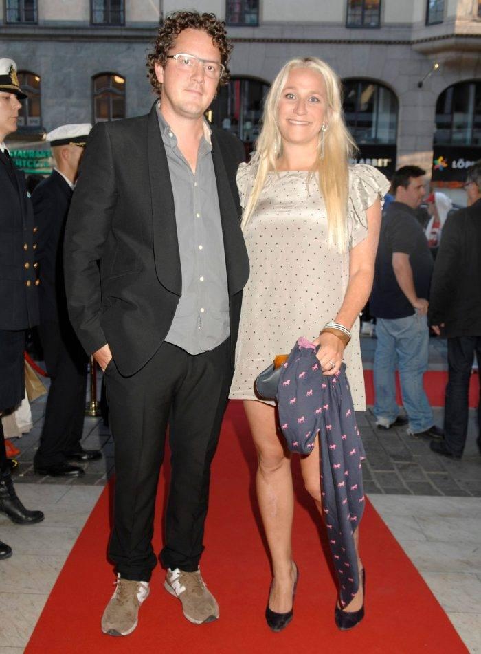 Ann Söderlund och Nanok Bie på premiären av filmen