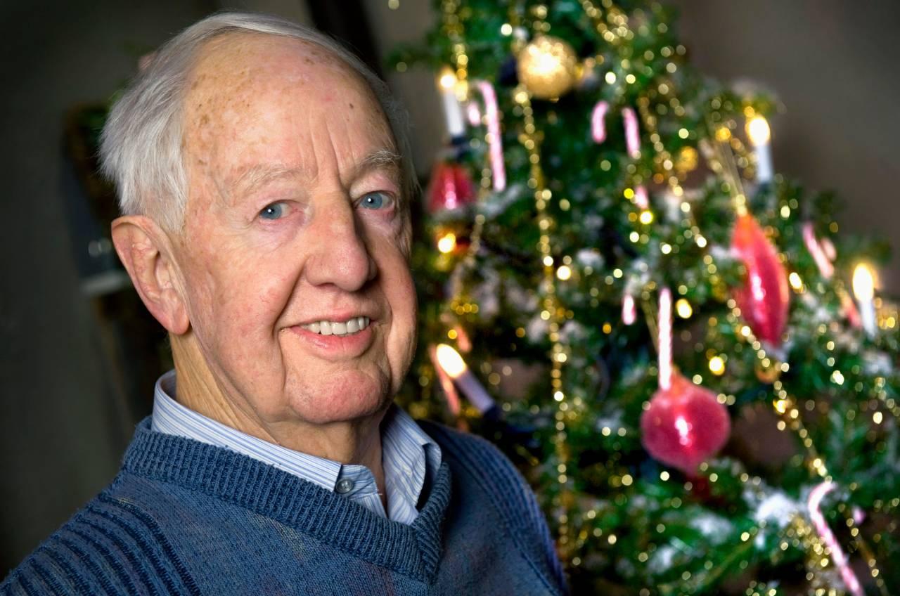 Bengt Feldreich var den första julvärden i SVT.