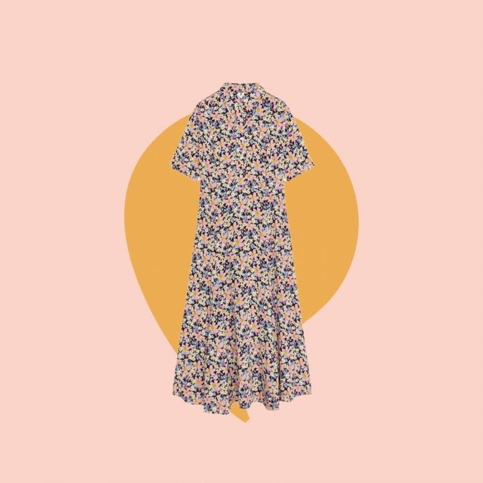 Blommig klänning ARKET