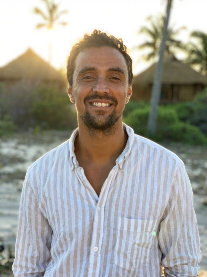Frukt- och grönsaksbonden Michel söker kärleken i Bonde söker fru – jorden runt i TV4 2019/2020.