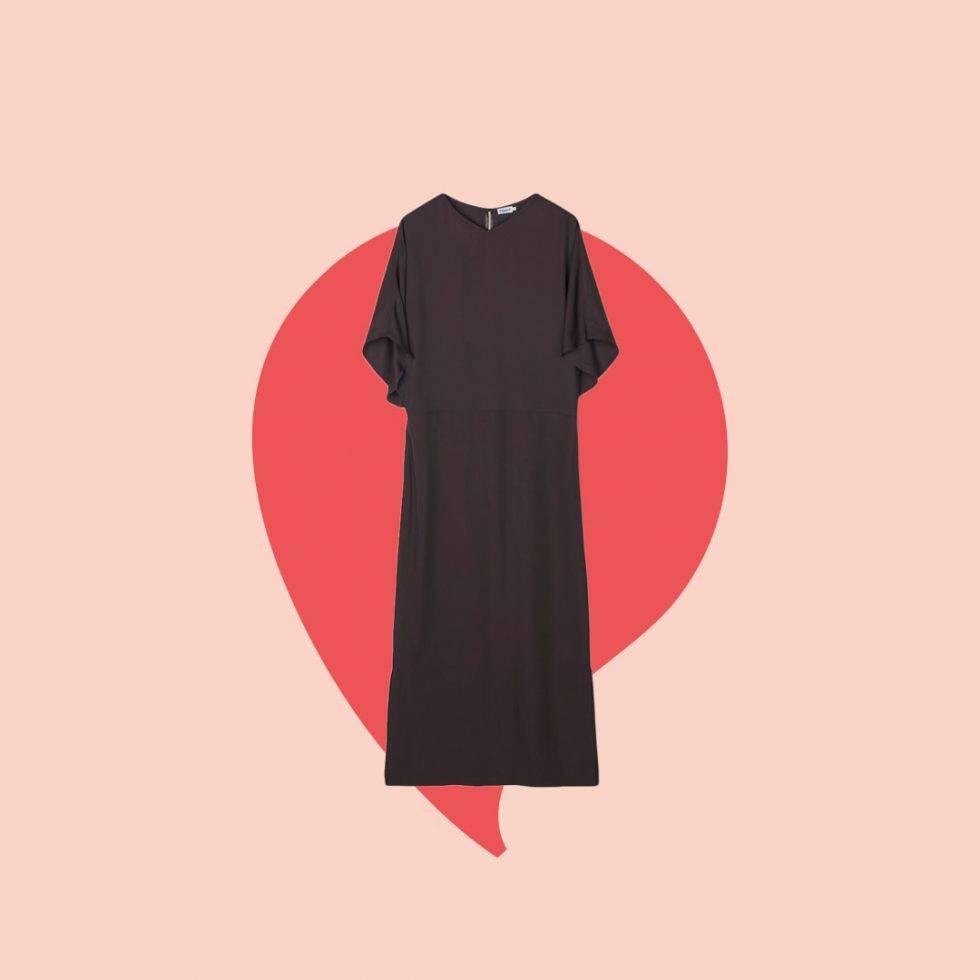 Den bruna kjolen Renee Nyberg bar i Bytt är bytt.
