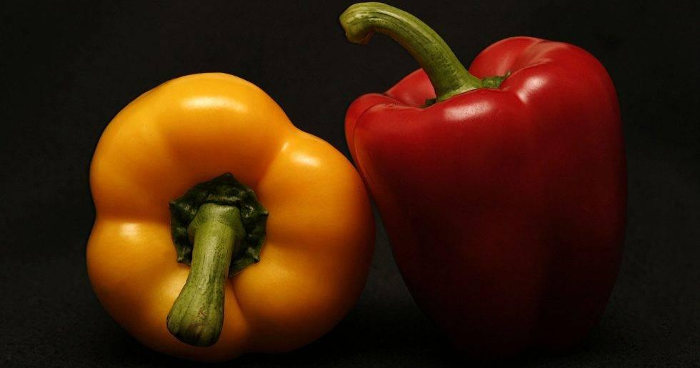 Gul paprika är nyttigare än både röd och grön.