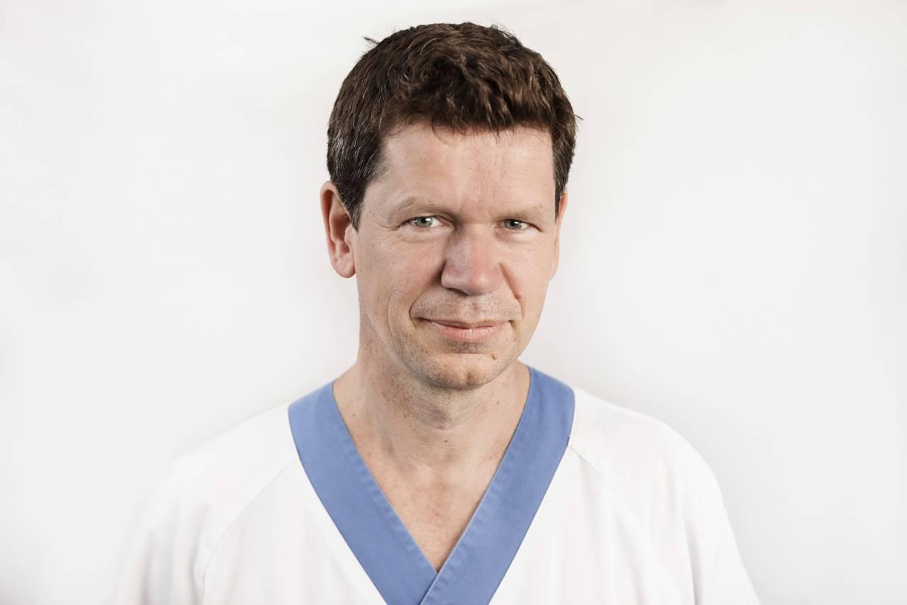 Henrik Lindman, docent och överläkare i onkologi.