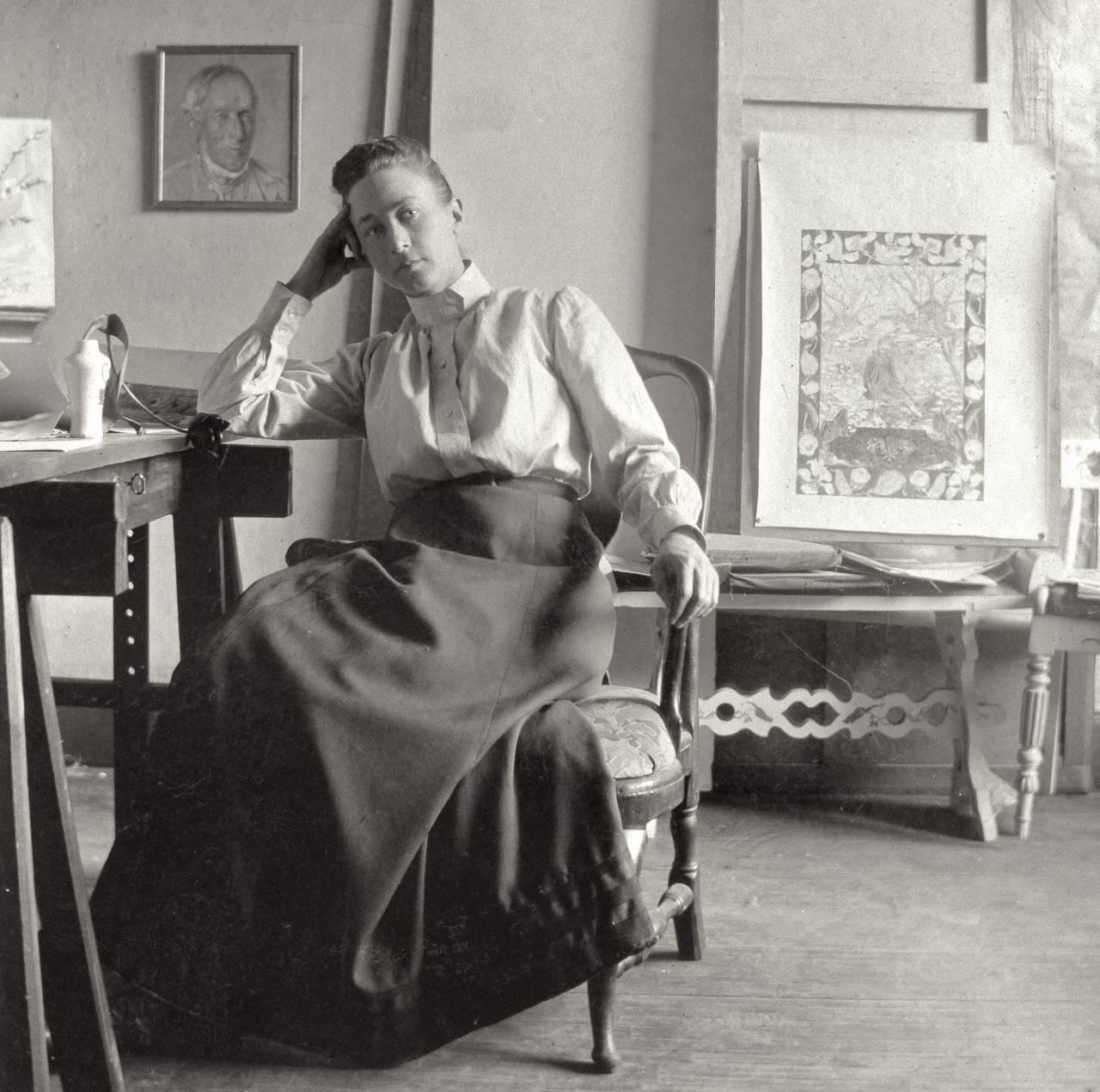 Den svenska konstnären Hilma af Klint.
