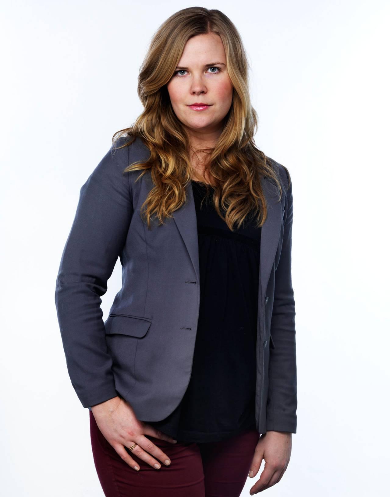 Porträtt av juristen Caroline Blomsten