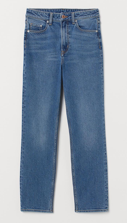 Ankelkorta jeans från H&M