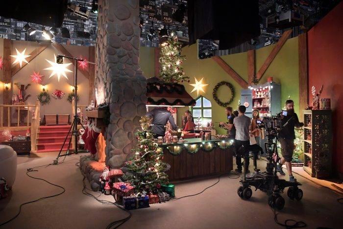 Inspelning av julkalendern