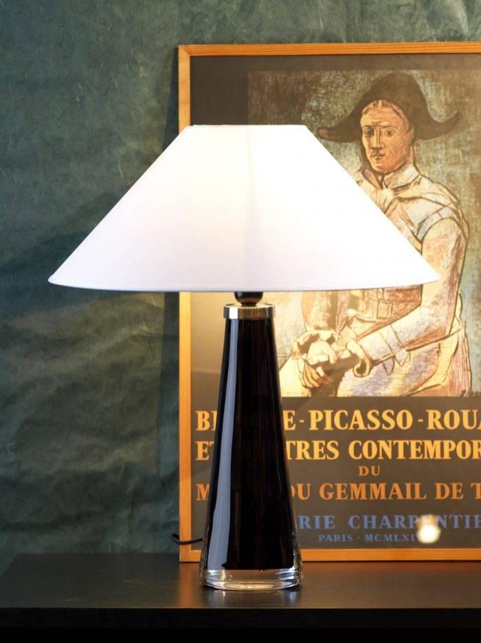 Lampa från Orrefors